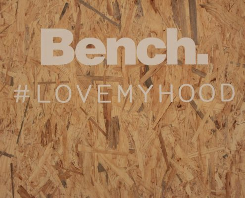 bench Messestand