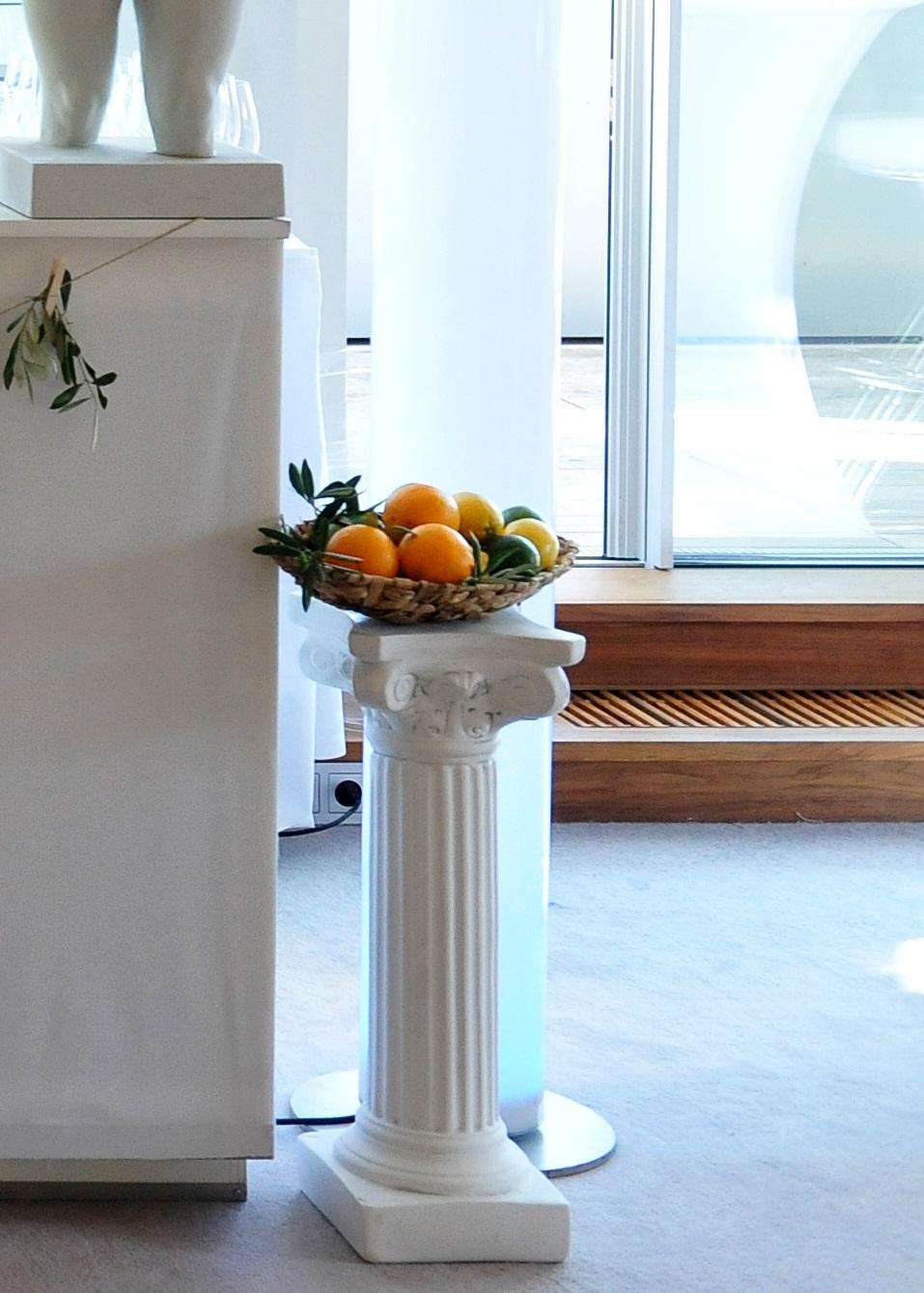 antike s ule gro mieten deko tec. Black Bedroom Furniture Sets. Home Design Ideas