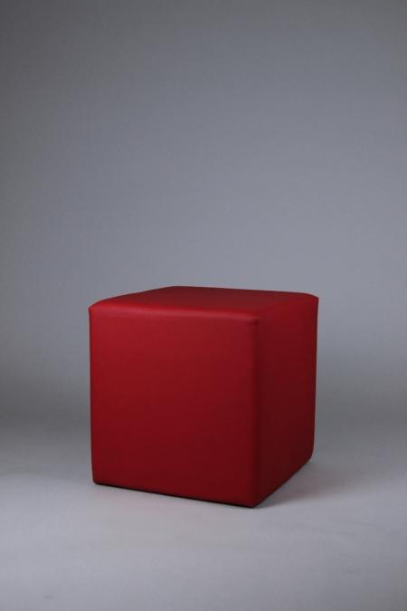 Sitzwürfel in rot bei Deko-Tec mieten