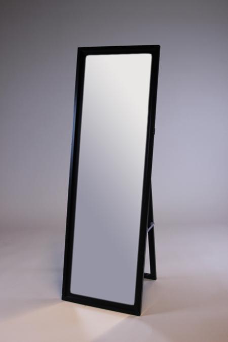 Standspiegel schwarzbraun bei Deko-Tec mieten