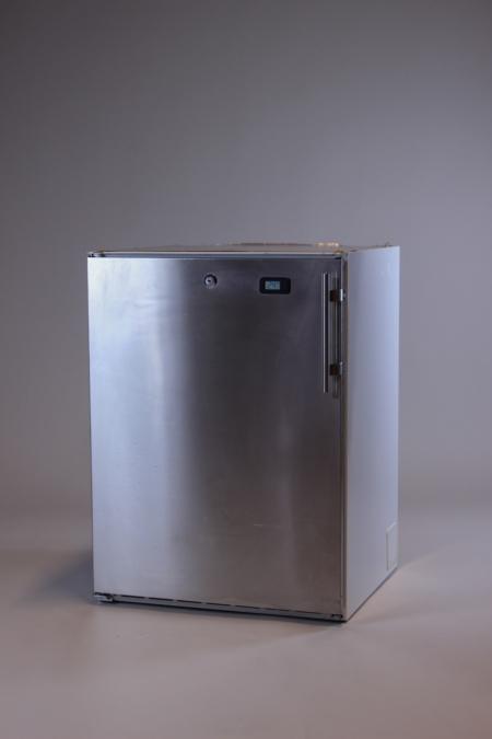 Edelstahl Kühlschrank niedrig bei Deko-Tec mieten