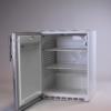 Edelstahl Kühlschrank niedrig 2 bei Deko-Tec mieten