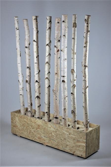 Raumtrenner aus Holz bei Deko-Tec mieten