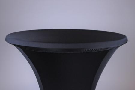 Tischhussen Deckel schwarz bei Deko-Tec mieten