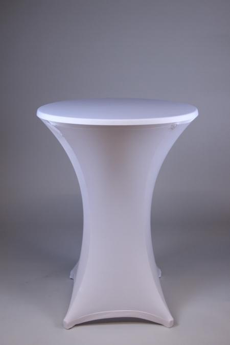 Tischhusse weiß bei Deko-Tec mieten